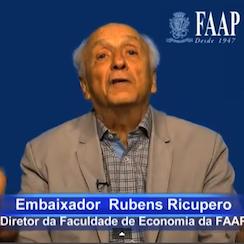 Embaixador Rubens Ricupero analisa a minha palestra no TEDx